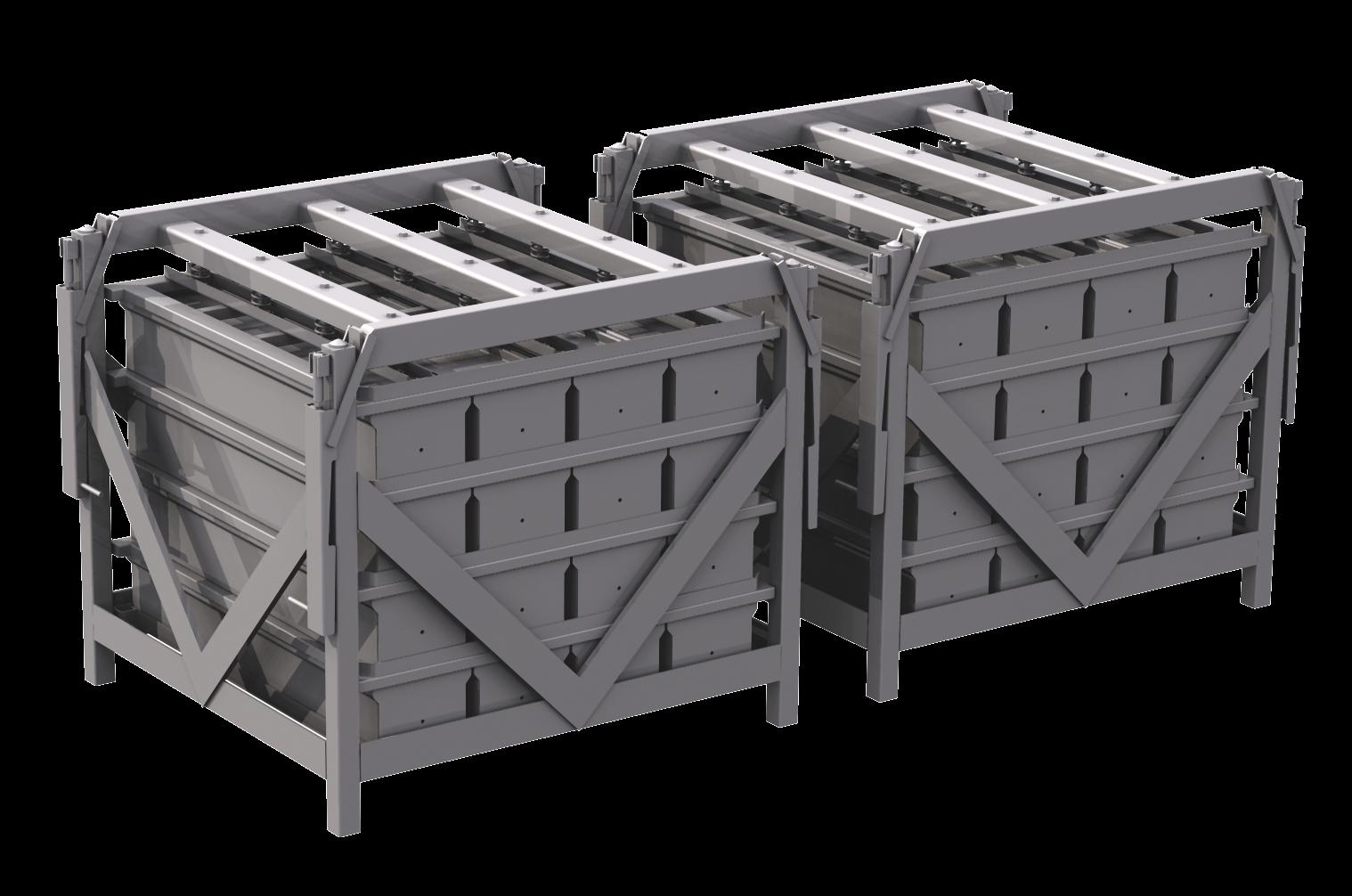containers voor kookkast